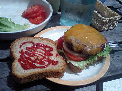 ポール家の昼御飯
